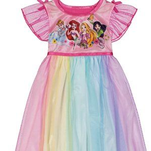 NWT disney fantasy night gown princess 3t or 4t 4